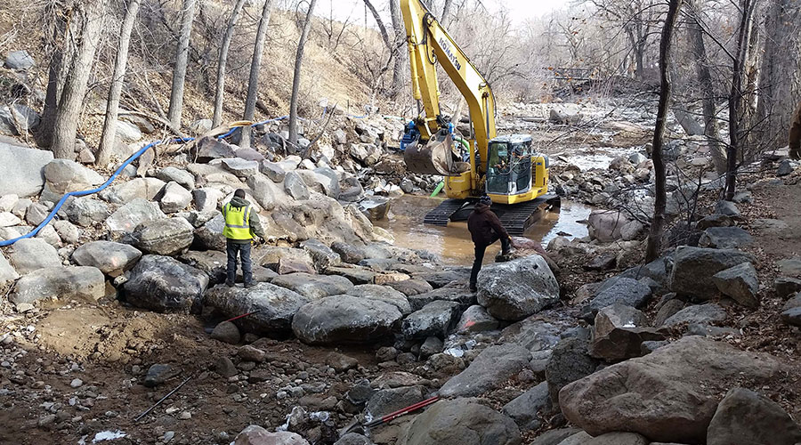 Creek Infrastructure Repairs